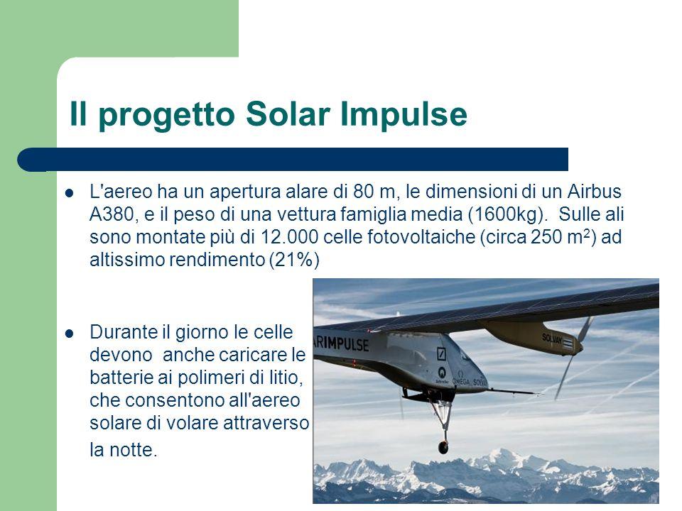 Il progetto Solar Impulse