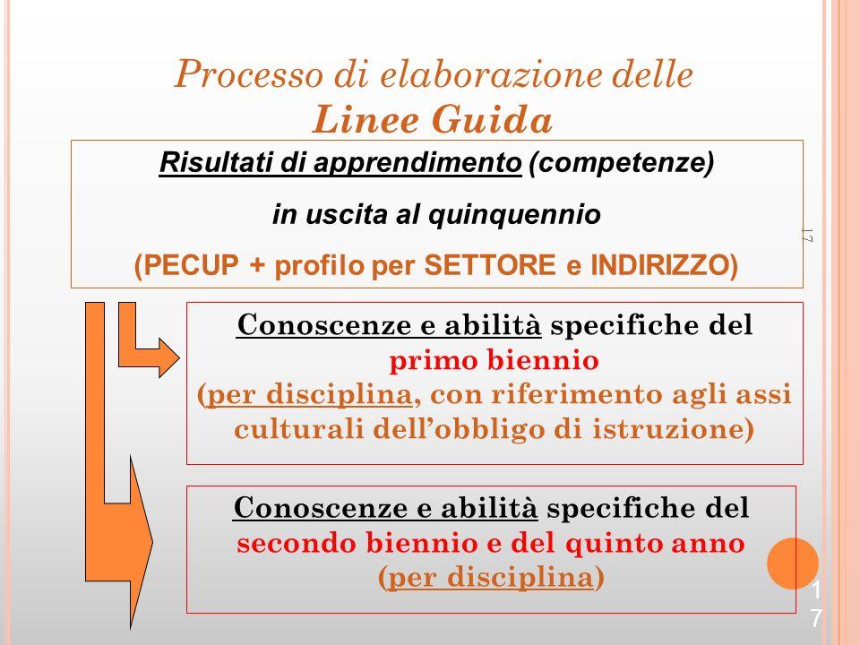 Processo di elaborazione delle Linee Guida
