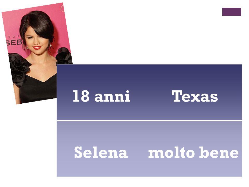 18 anni Texas Selena molto bene