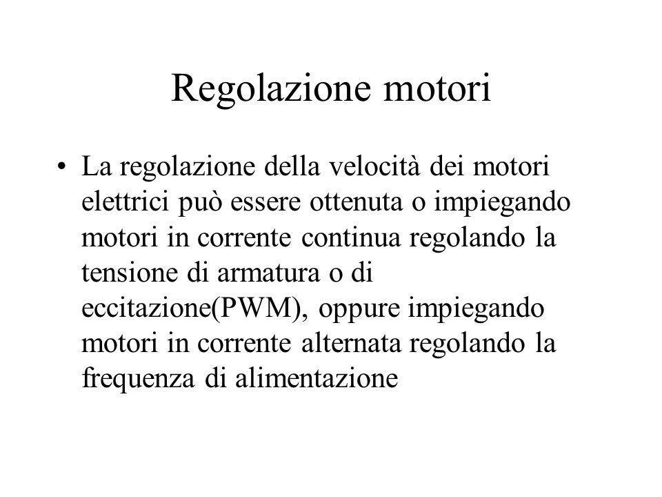 Regolazione motori