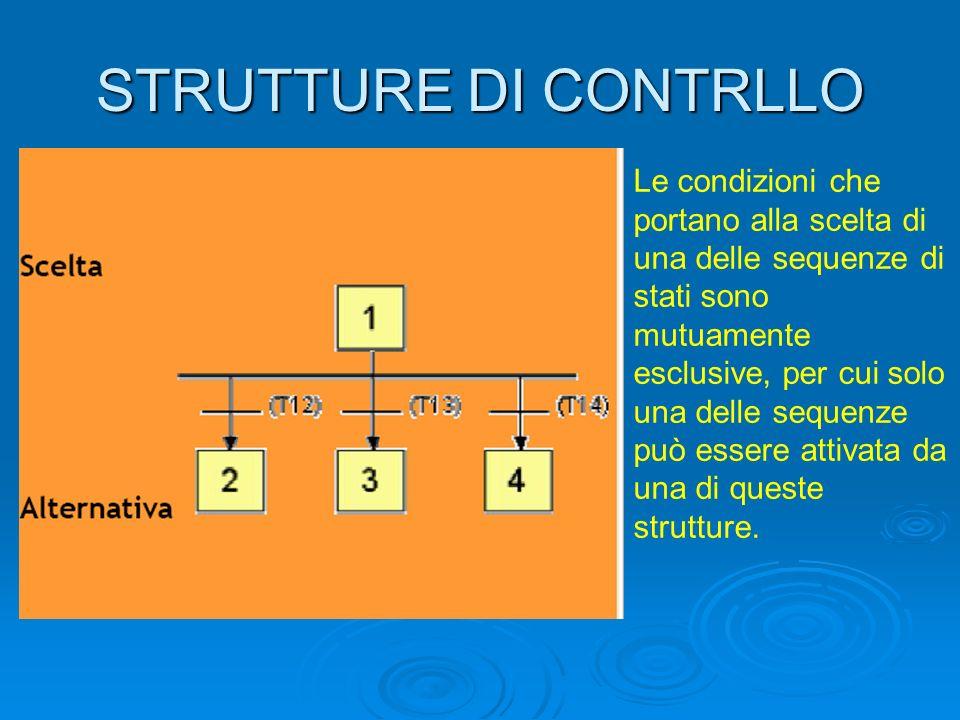 STRUTTURE DI CONTRLLO