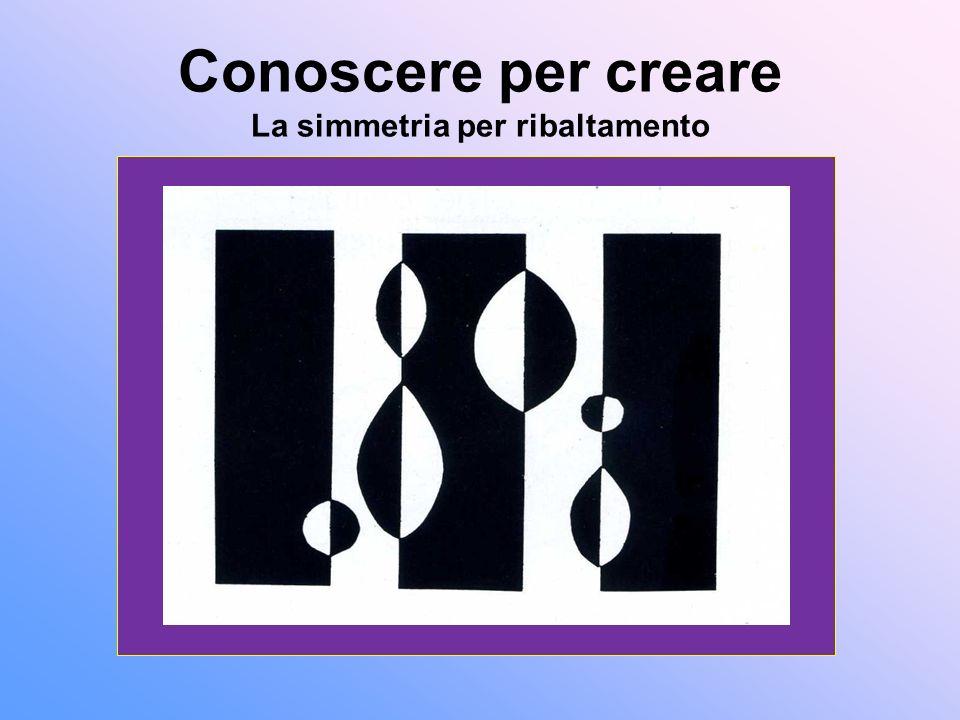 Conoscere per creare La simmetria per ribaltamento