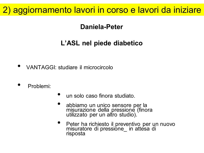 Daniela-Peter L'ASL nel piede diabetico
