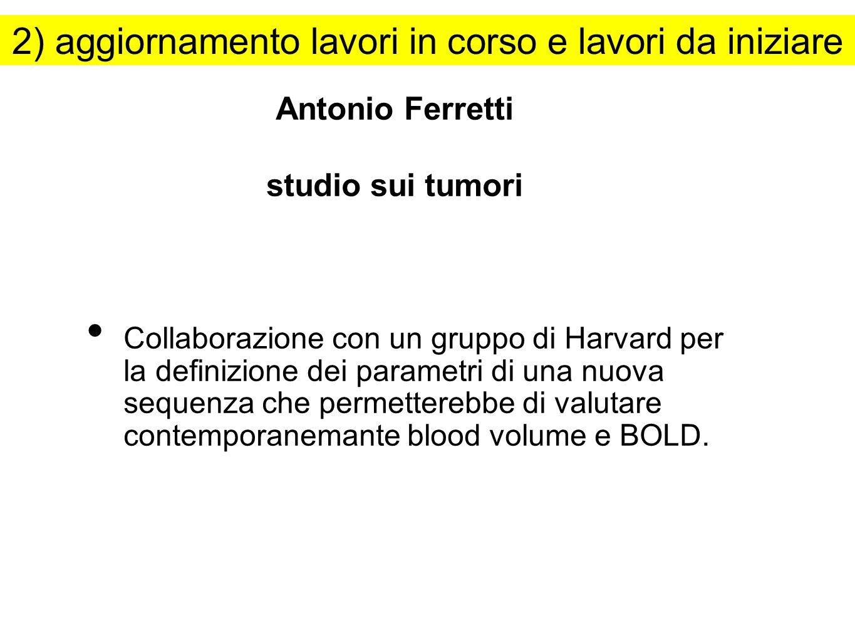 Antonio Ferretti studio sui tumori