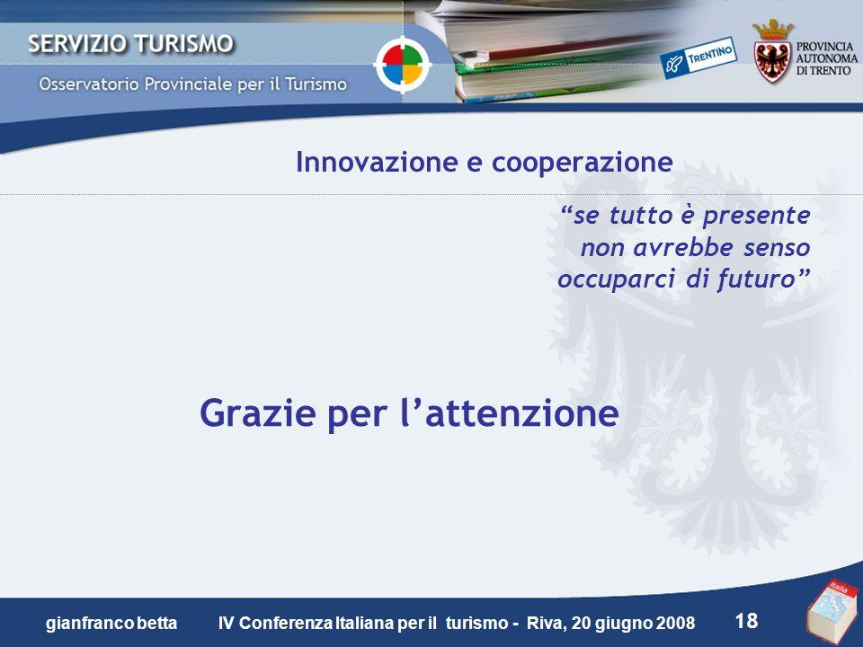 Innovazione e cooperazione