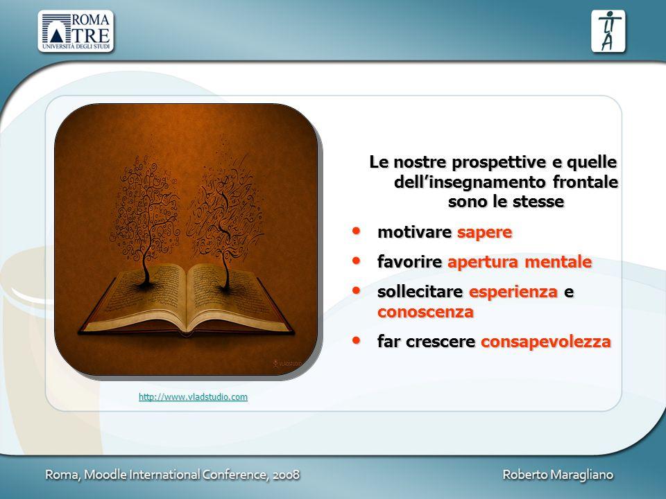 favorire apertura mentale sollecitare esperienza e conoscenza