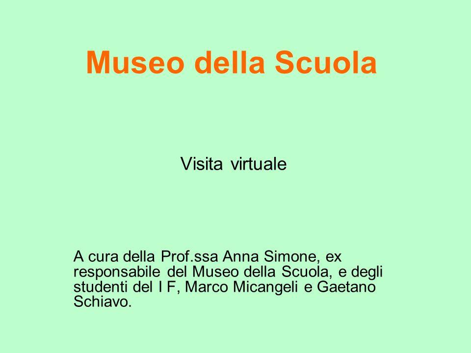 Museo della Scuola Visita virtuale