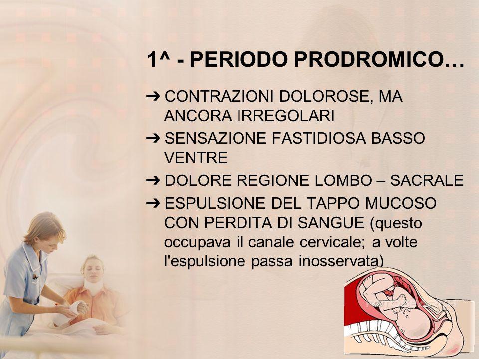 1^ - PERIODO PRODROMICO…