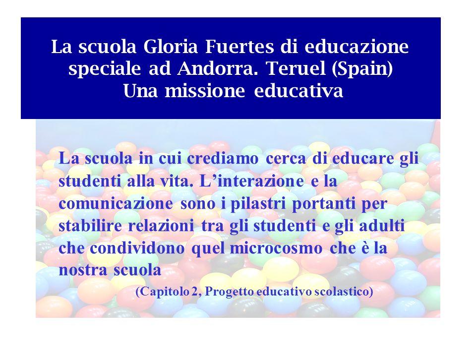 La scuola Gloria Fuertes di educazione speciale ad Andorra