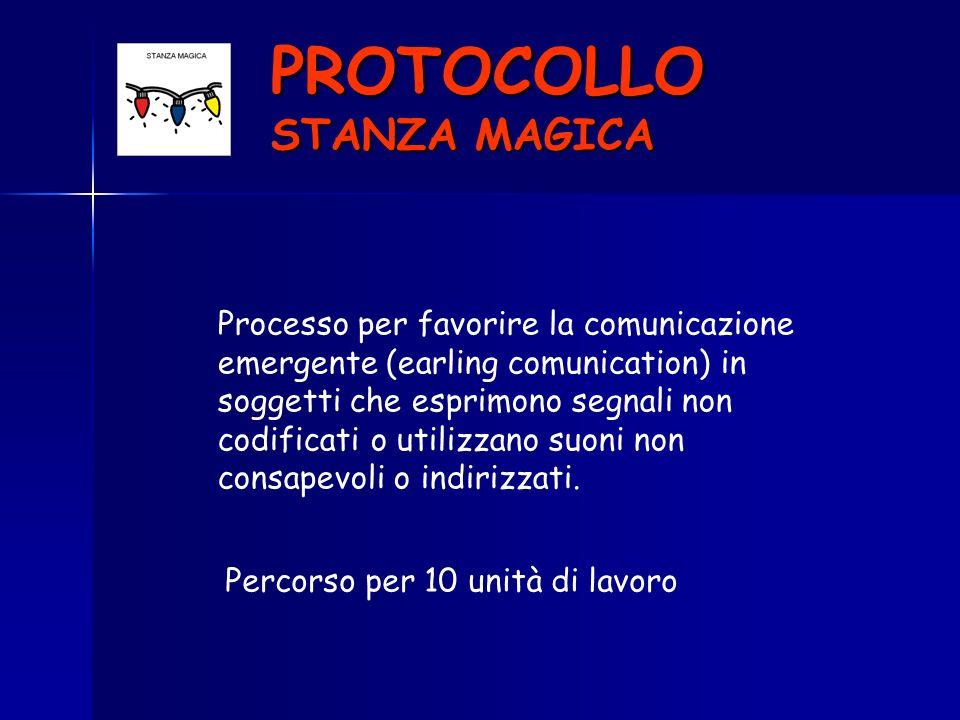 PROTOCOLLO STANZA MAGICA