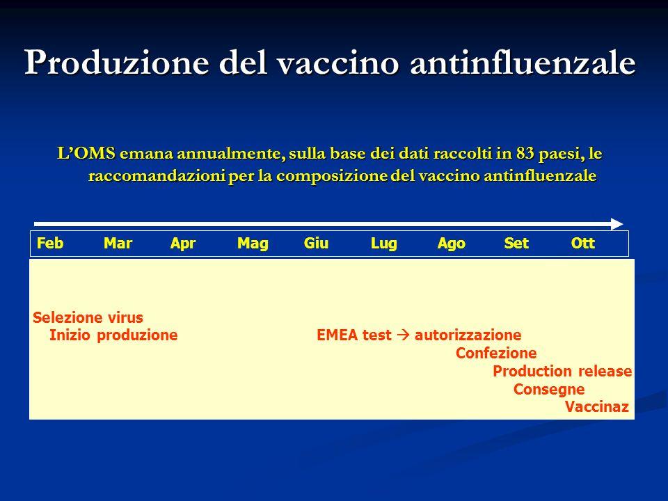 Produzione del vaccino antinfluenzale
