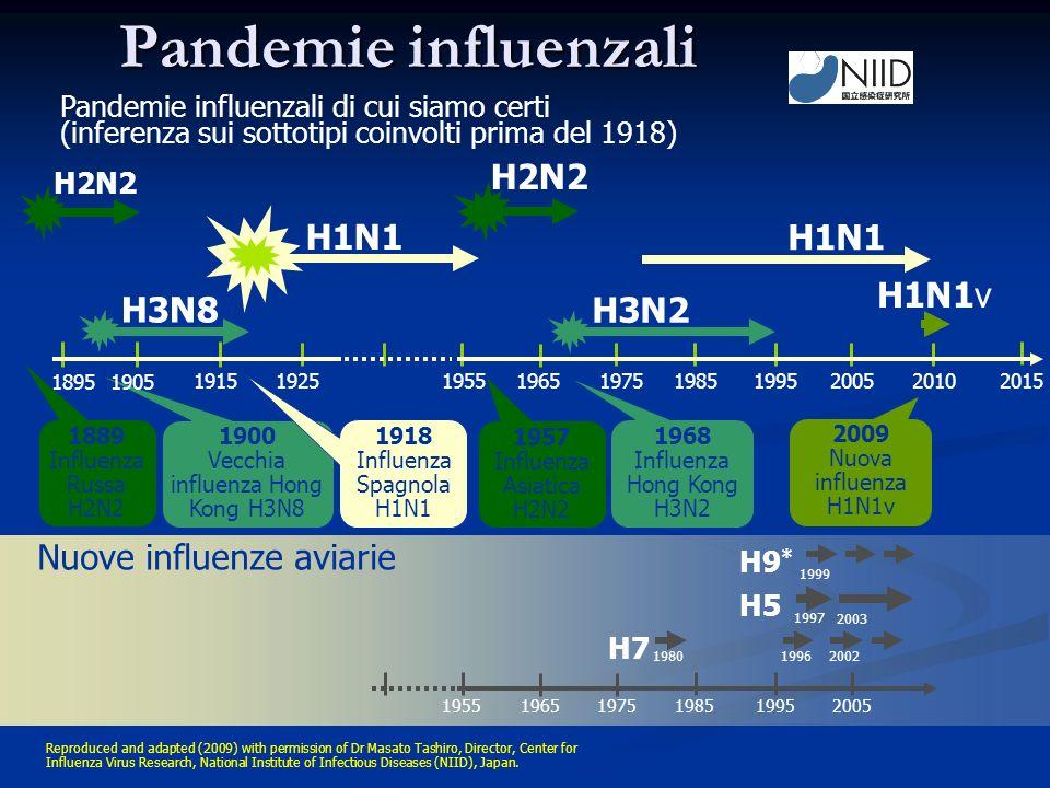 Vecchia influenza Hong Kong H3N8