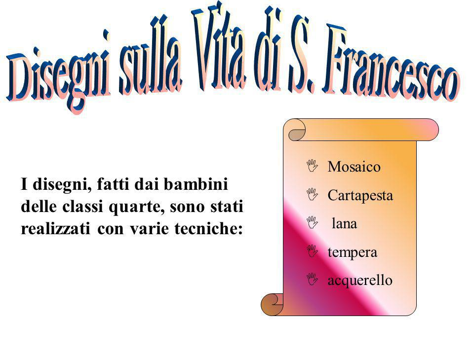 Disegni sulla Vita di S. Francesco