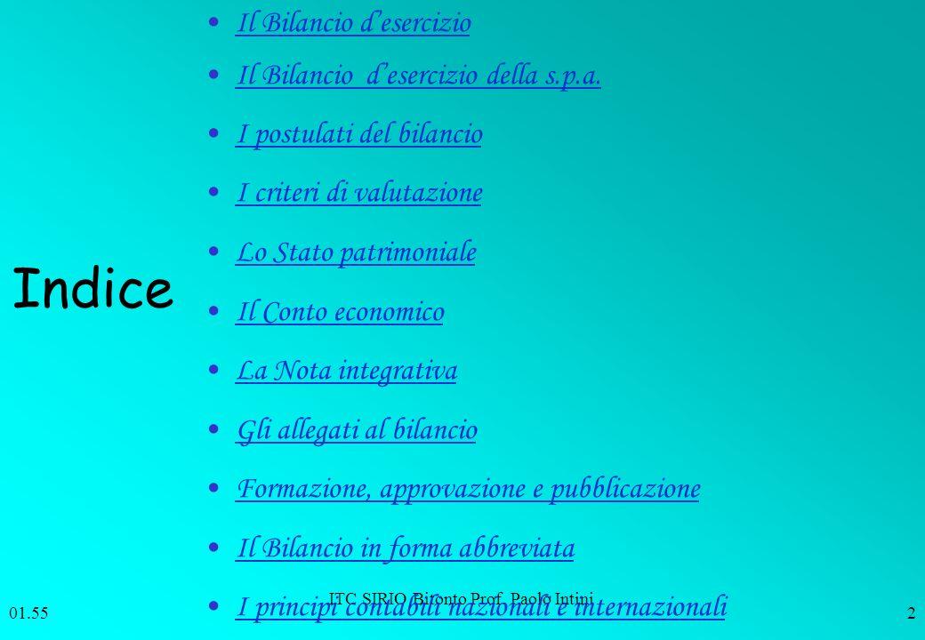 ITC SIRIO Bitonto Prof. Paolo Intini