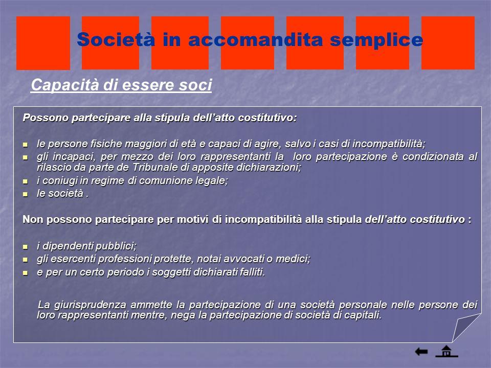 Società in accomandita semplice