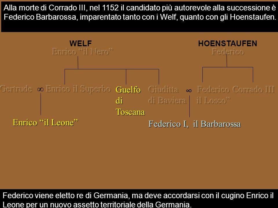 Gertrude ∞ Enrico il Superbo Guelfo di Toscana Giuditta di Baviera