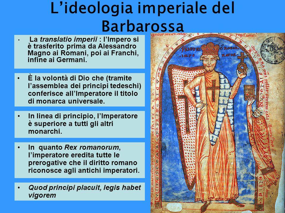L'ideologia imperiale del Barbarossa