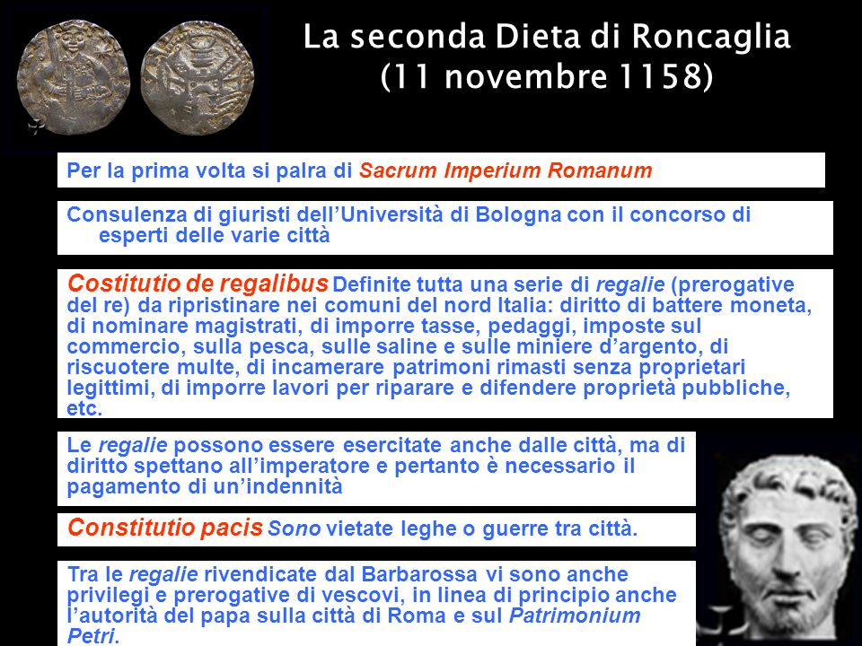La seconda Dieta di Roncaglia (11 novembre 1158)