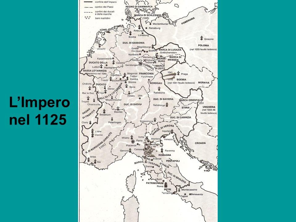 L'Impero nel 1125