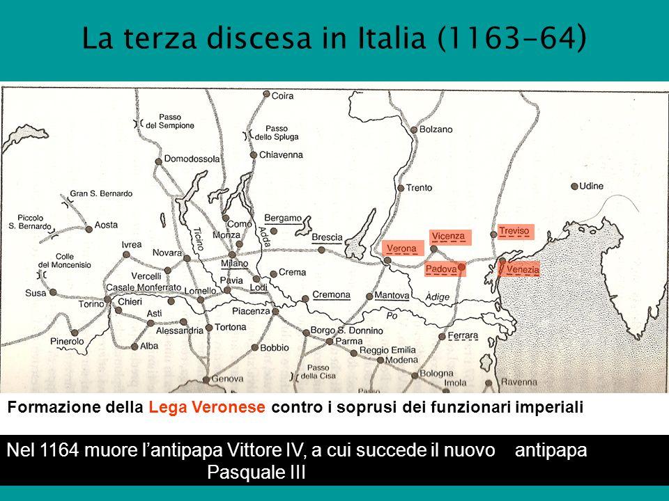 La terza discesa in Italia (1163-64)