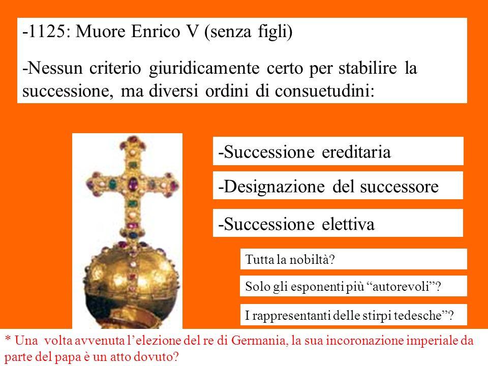 -1125: Muore Enrico V (senza figli)