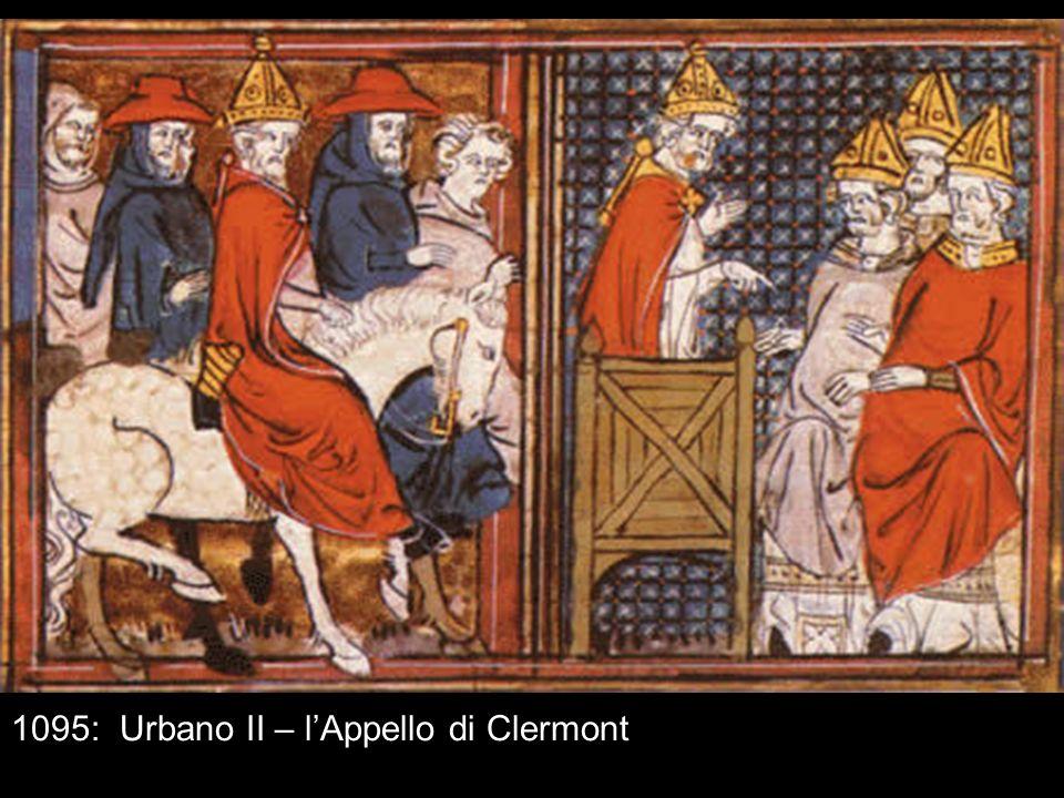 1095: Urbano II – l'Appello di Clermont