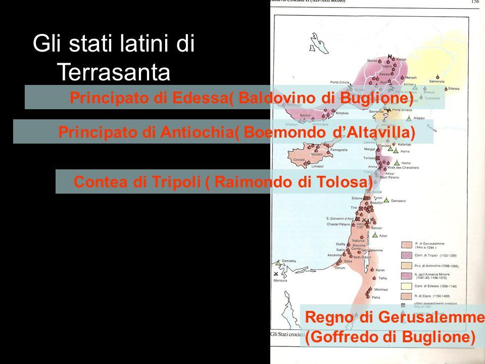 Gli stati latini di Terrasanta