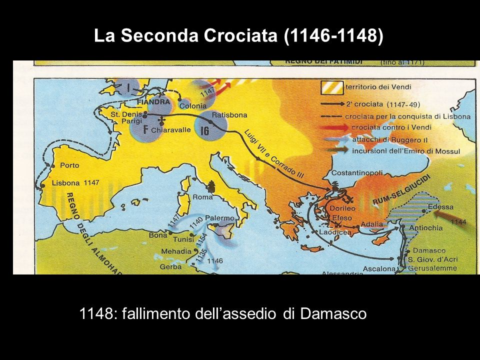 agagagagagag La Seconda Crociata (1146-1148)