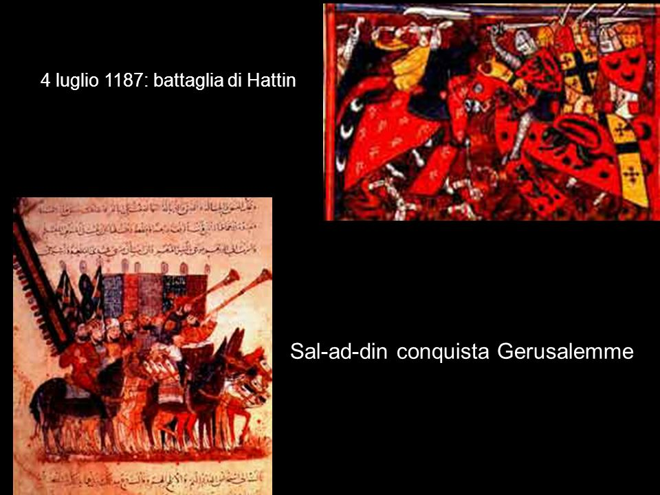 Sal-ad-din conquista Gerusalemme