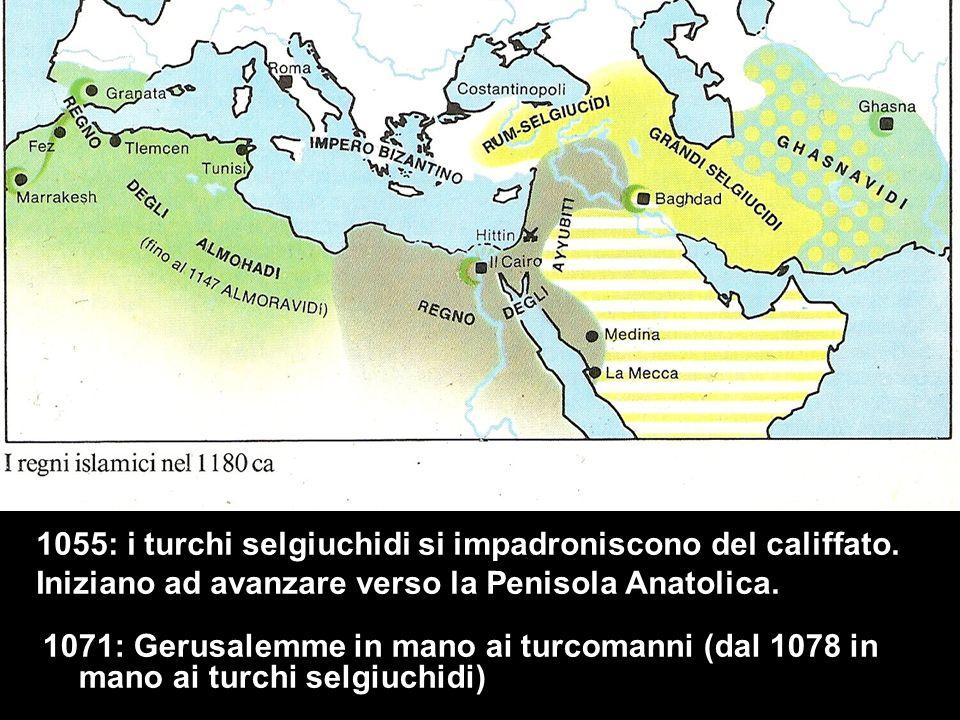1055: i turchi selgiuchidi si impadroniscono del califfato