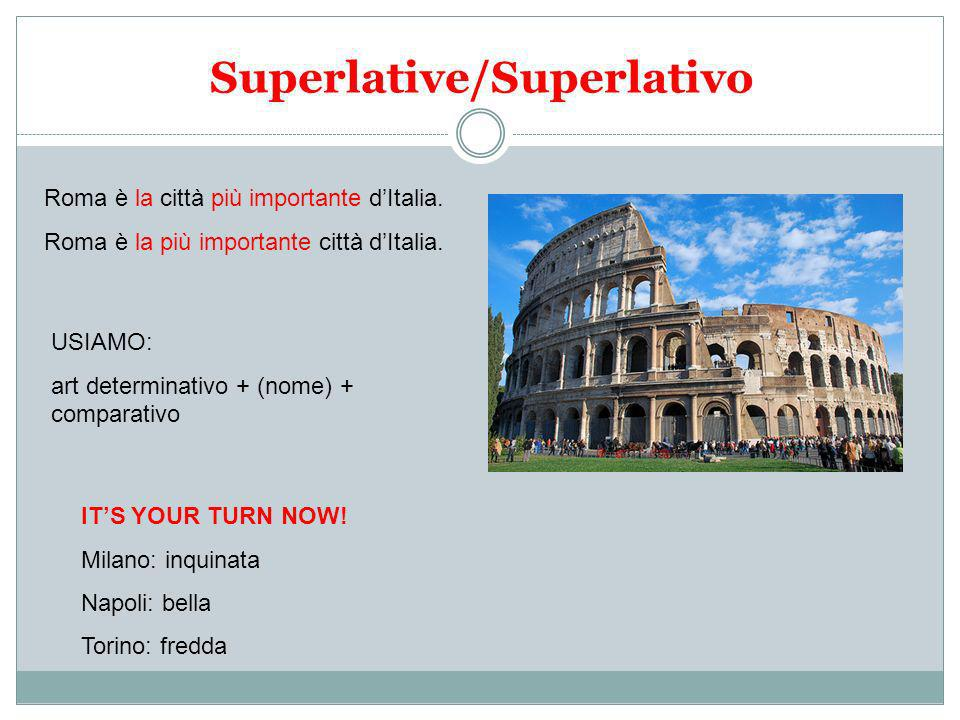 Superlative/Superlativo