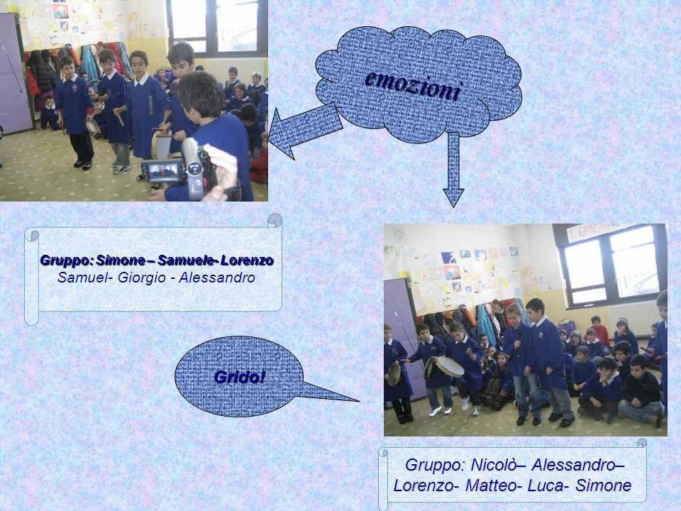 Gruppo: Simone – Samuele- Lorenzo