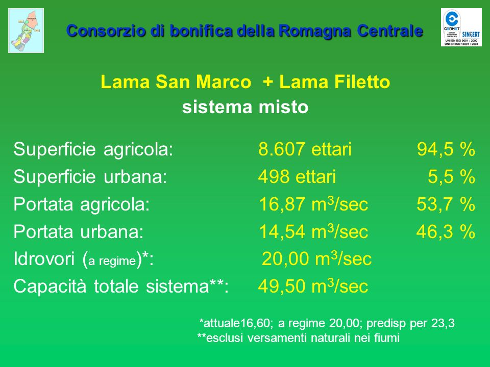 Lama San Marco + Lama Filetto
