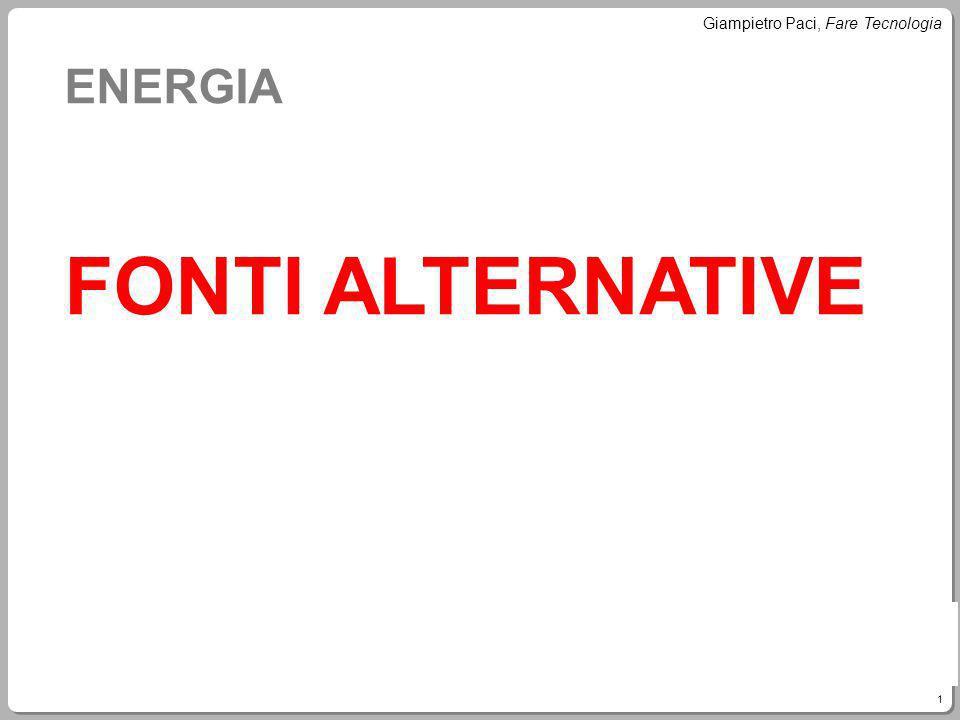 ENERGIA FONTI ALTERNATIVE