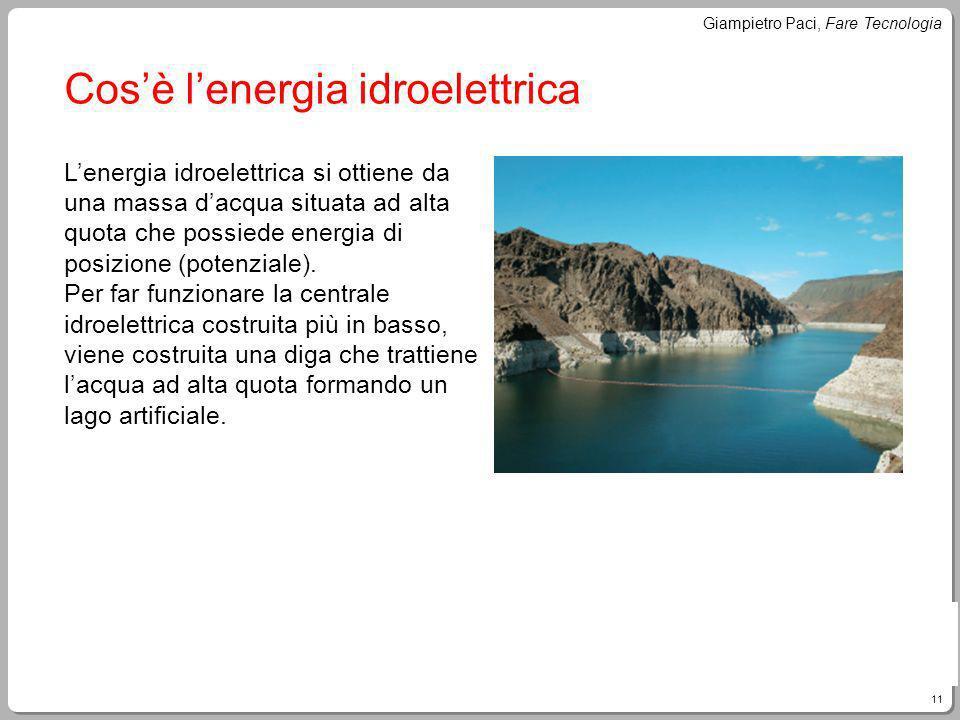 Cos'è l'energia idroelettrica