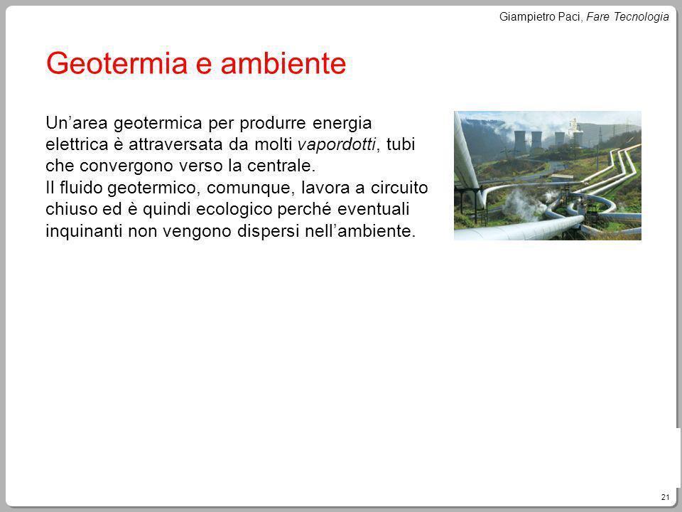 Geotermia e ambiente