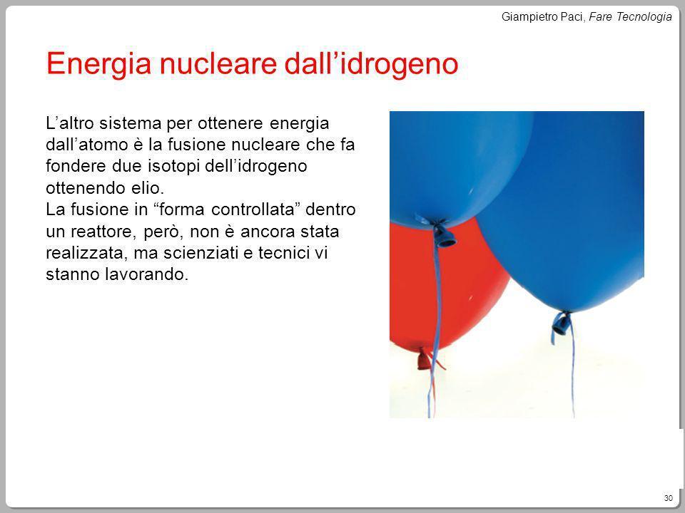 Energia nucleare dall'idrogeno