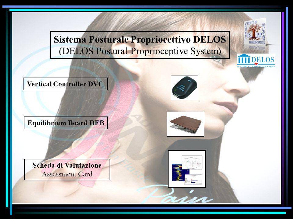 Sistema Posturale Propriocettivo DELOS Vertical Controller DVC