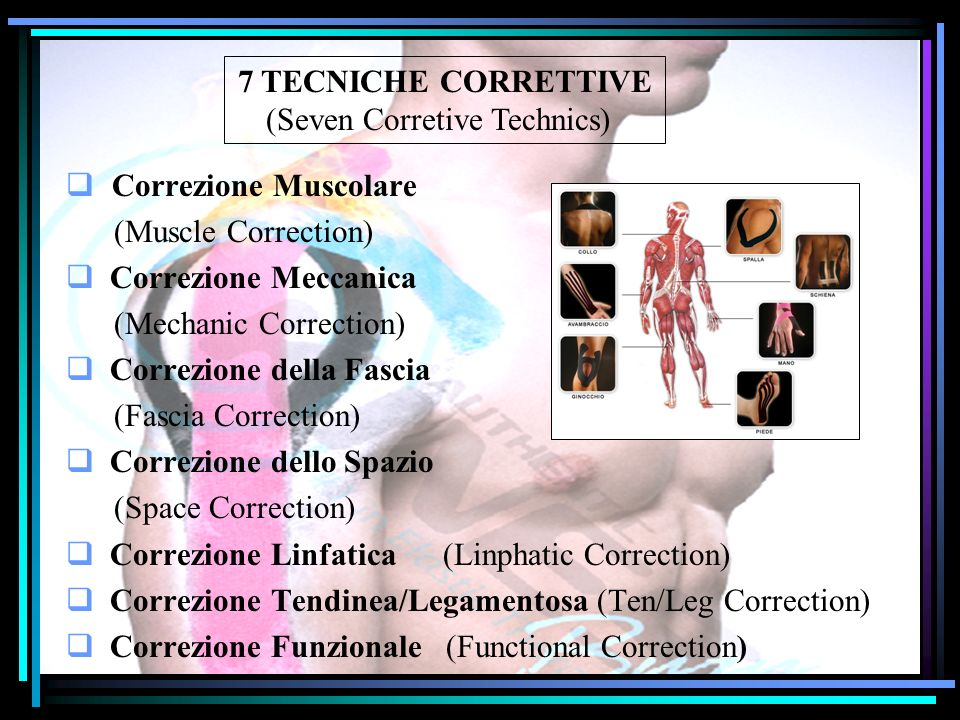(Seven Corretive Technics)