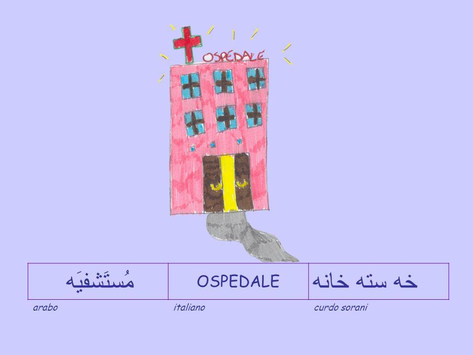 مُستَشفيَه OSPEDALE خه سته خانه arabo italiano curdo sorani
