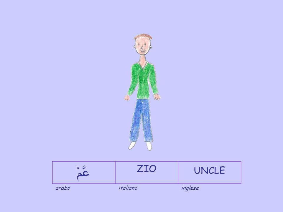 عَّمْ ZIO UNCLE arabo italiano inglese