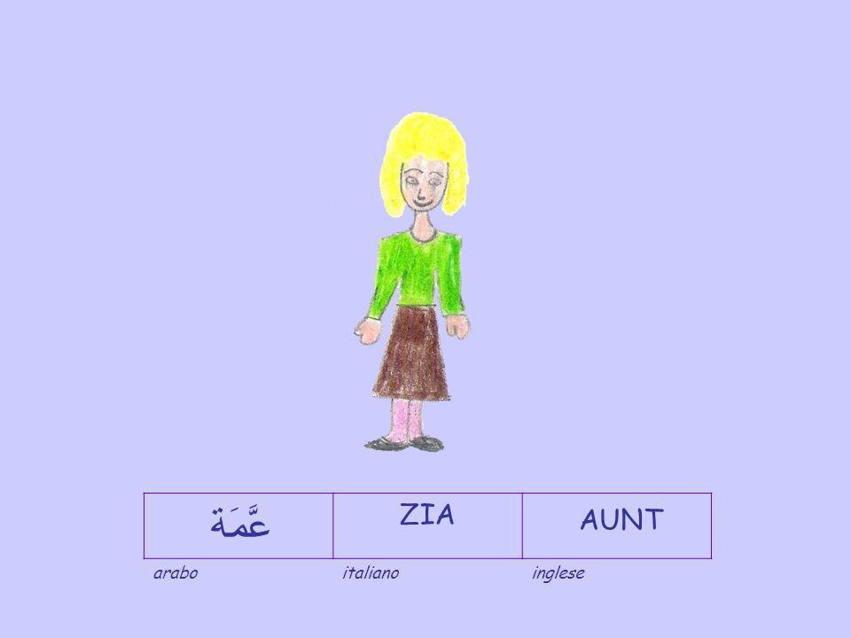 عَّمَة ZIA AUNT arabo italiano inglese
