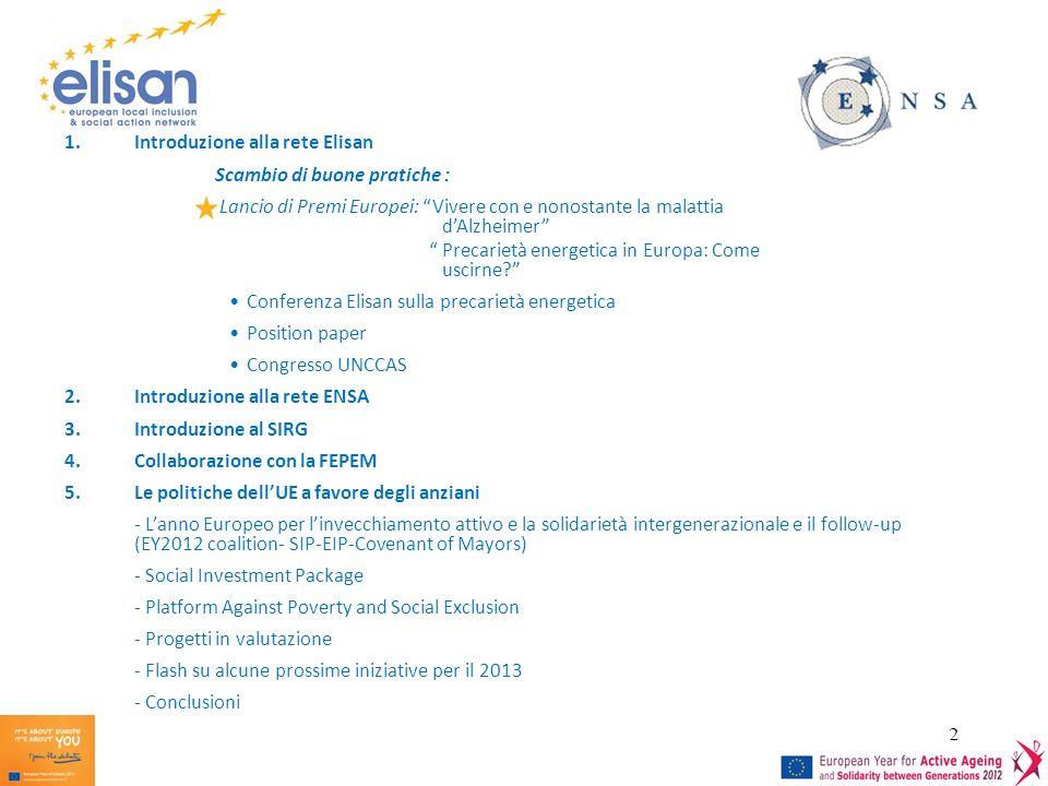 Introduzione alla rete Elisan