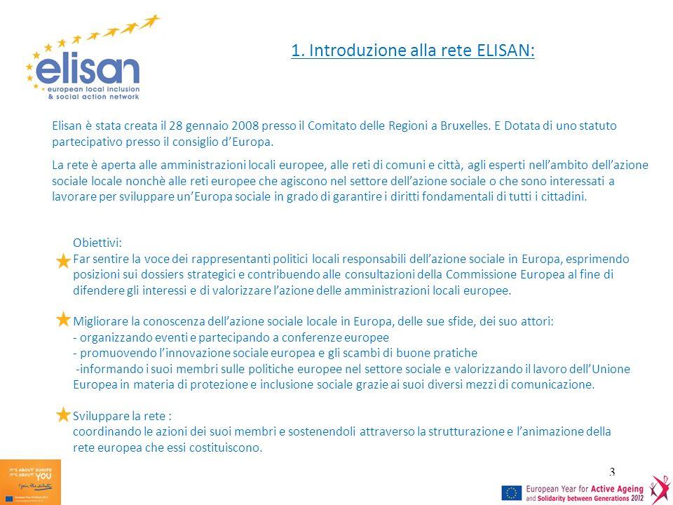 1. Introduzione alla rete ELISAN: