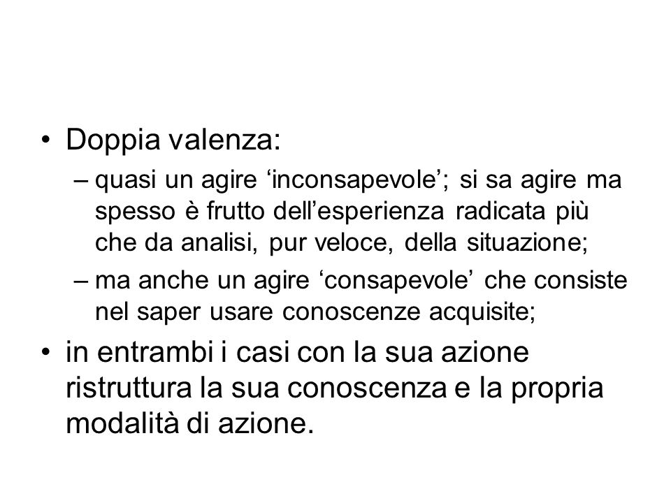 Doppia valenza: