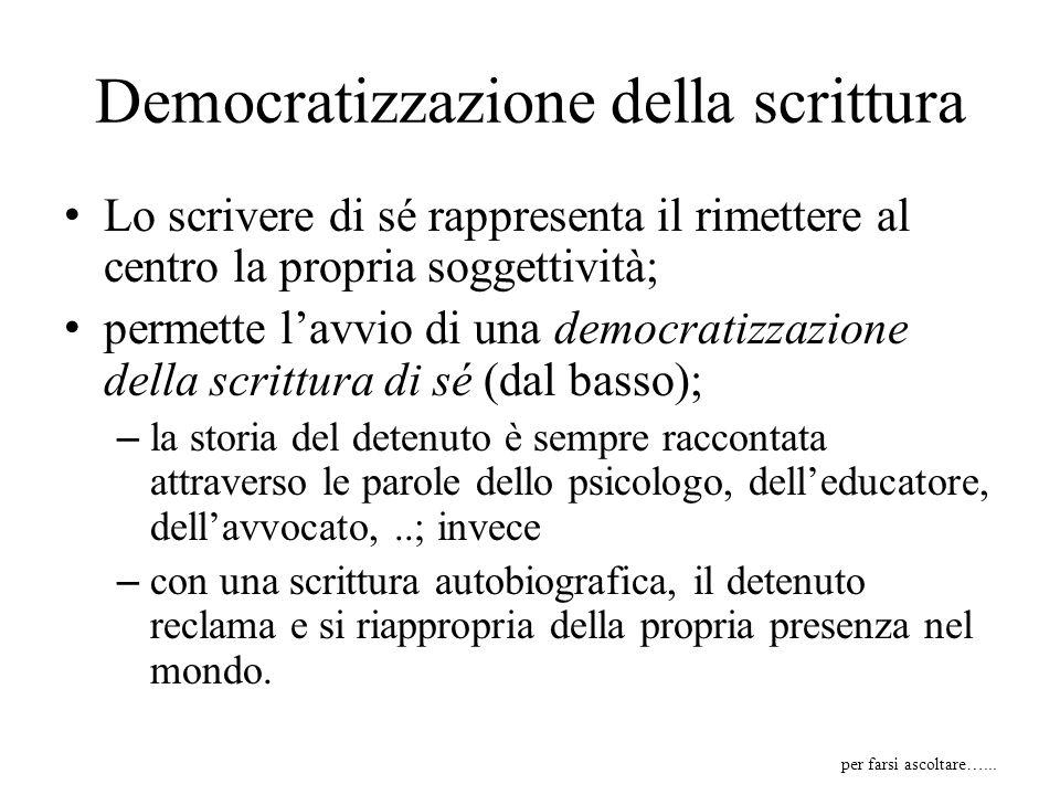 Democratizzazione della scrittura