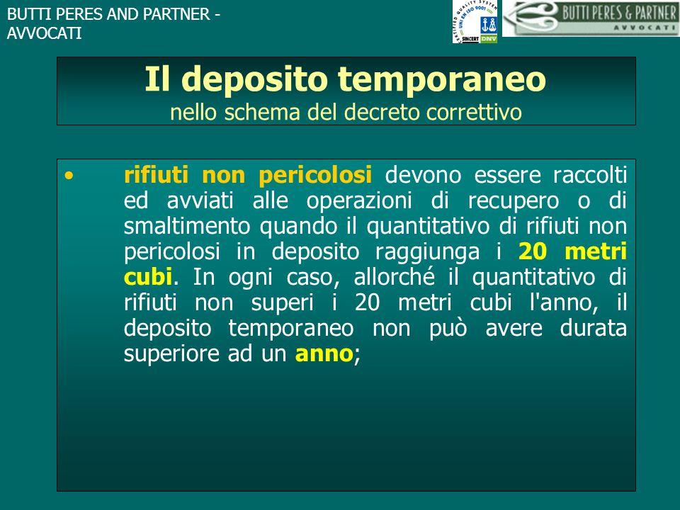 Il deposito temporaneo nello schema del decreto correttivo