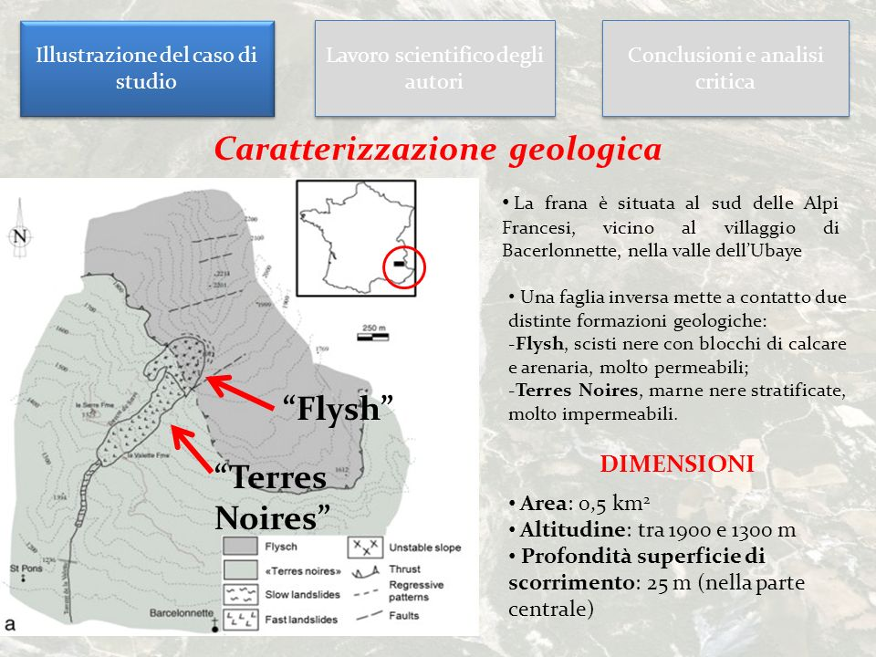 Caratterizzazione geologica