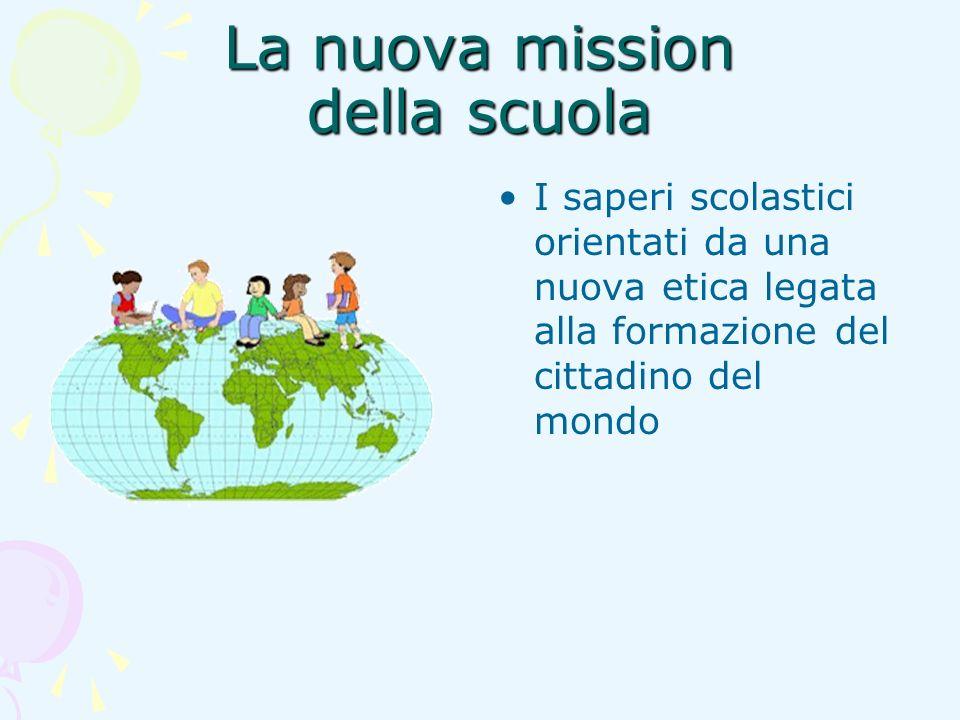 La nuova mission della scuola