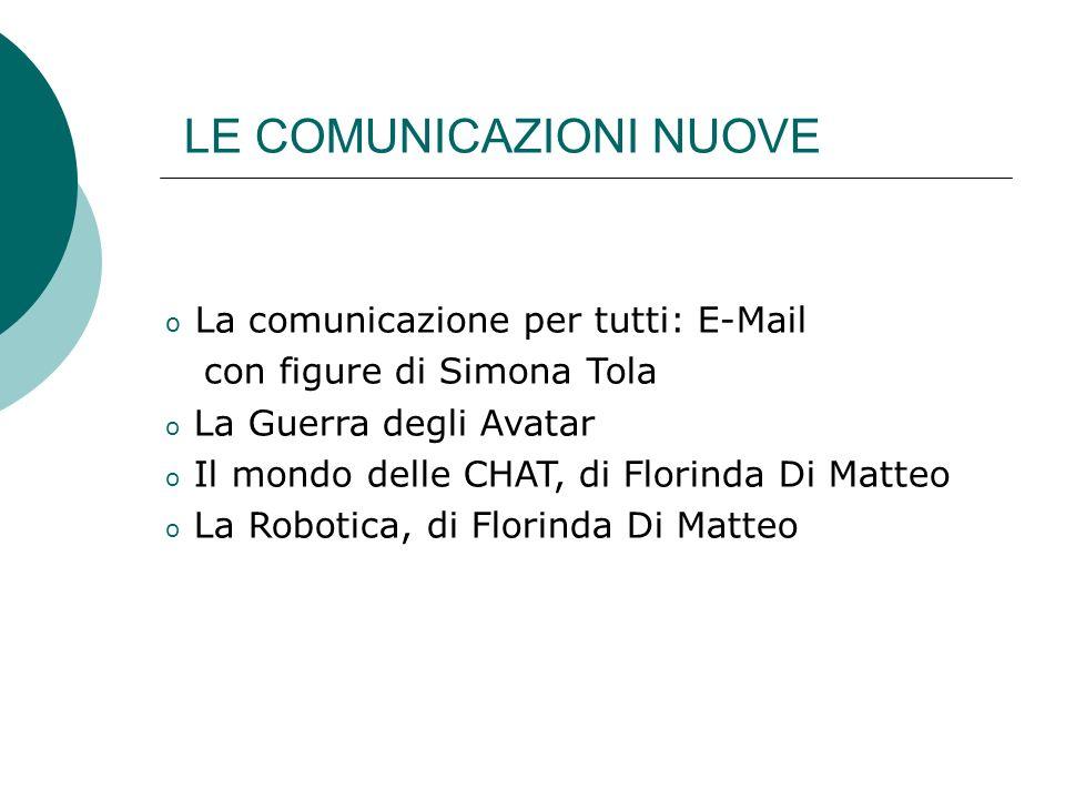 LE COMUNICAZIONI NUOVE